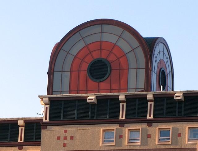 Detail, tower block