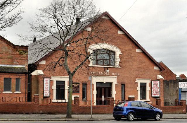The Templemore Hall, Belfast