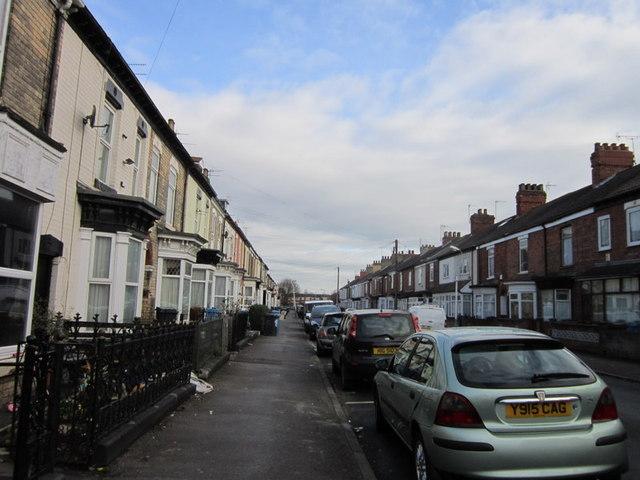 Pendrill Street off Beverley Road, Hull