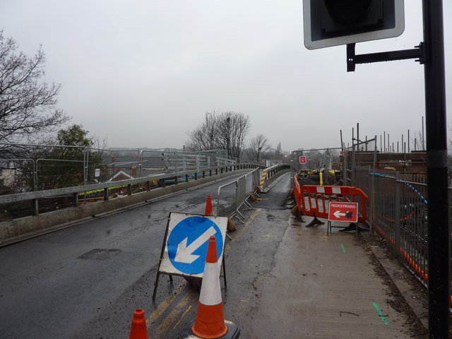 Woodseats Road, Bridge replacement
