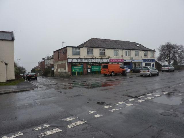 Local shops, Norton Woodseats