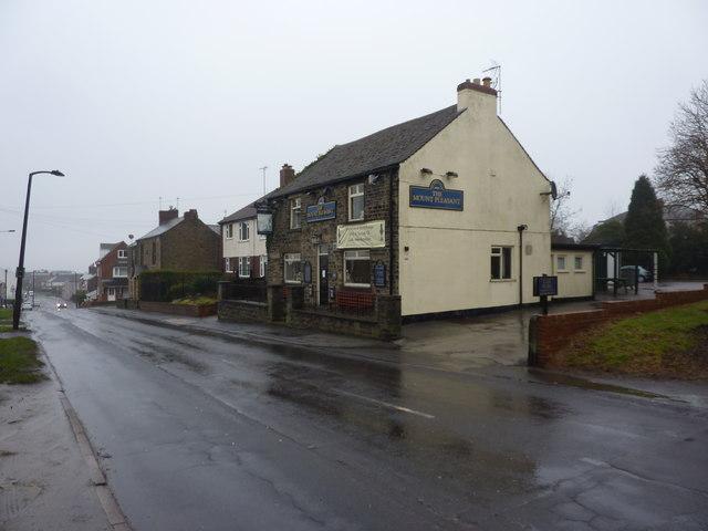The Mount Pleasant, a pub on Derbyshire Lane