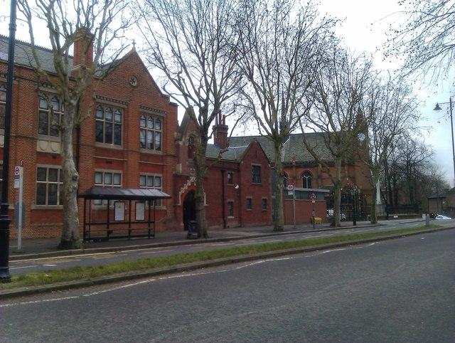 Highgate School buildings on North Road