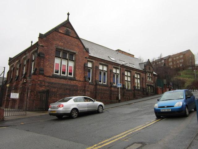 Rosebank School on Burley Road, Leeds