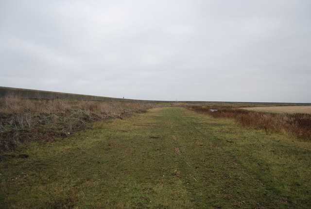 Footpath by the Cooling Marshes