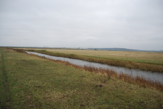 Drainage ditch, Cooling Marshes