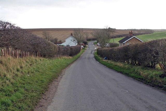 Road at Poke Holes