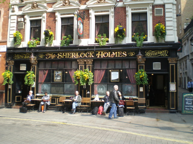 The Sherlock Holmes, off Northumberland Avenue, London