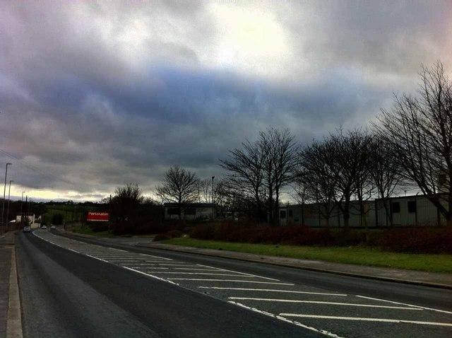 Portakabin depot on Gelderd Road Leeds