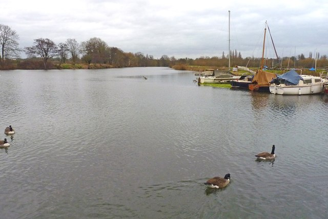 The Thames at Old Shepperton