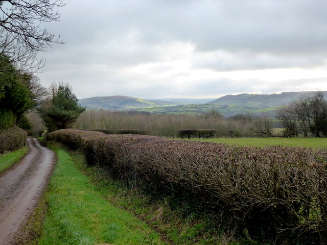 Long view to the Monnow gap