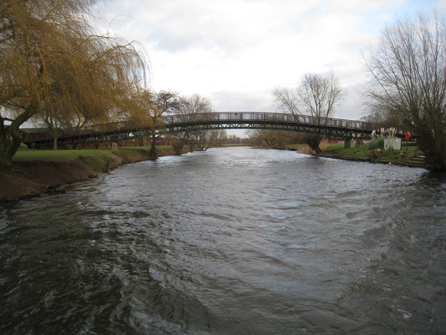 Footbridge over the Avon