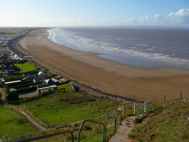 Brean Down - Berrow Flats