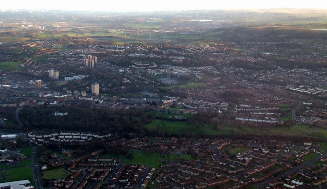 Paisley from the air