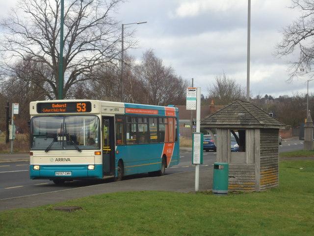 Bus to Ewhurst