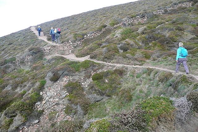 Path towards St Agnes Head