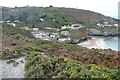SW7251 : Looking down on Trevaunance Cove by Graham Horn