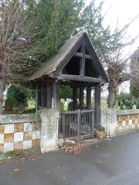 The Parish Church of St Peter, Tempsford, Lychgate
