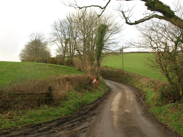 Lane to Boasley Cross