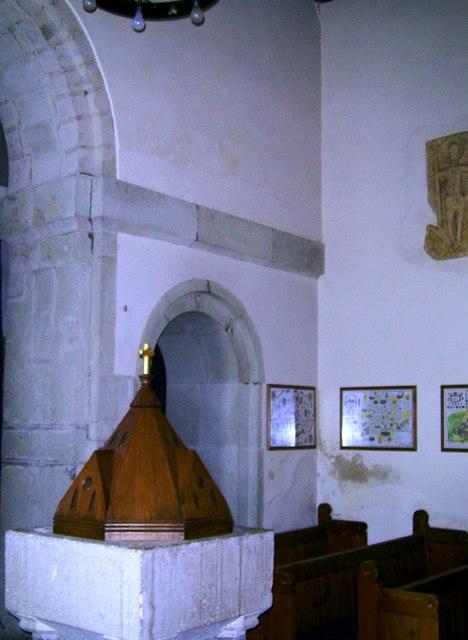 Font, St. Andrew's, Jevington
