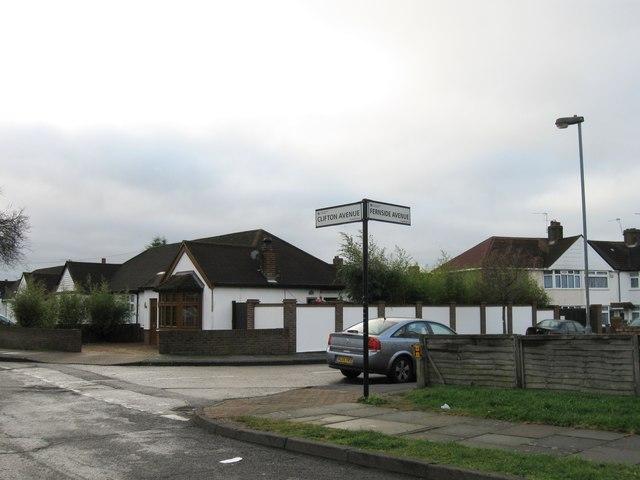 Clifton Avenue, Hanworth