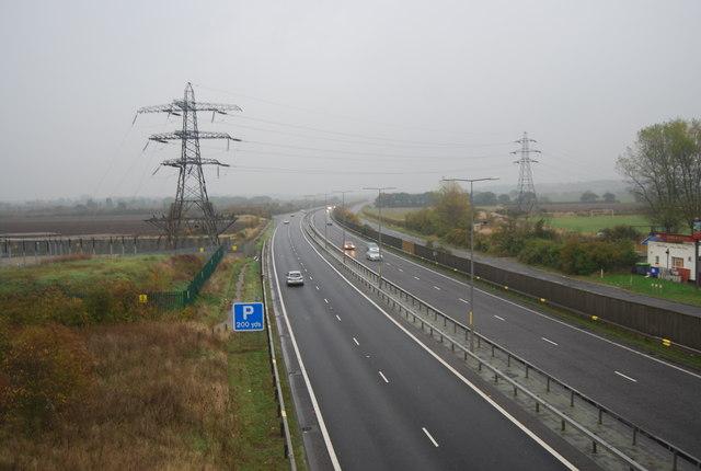 A299 heading east