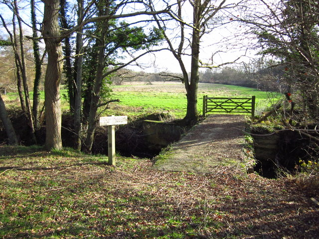 Bridge over Eridge Stream
