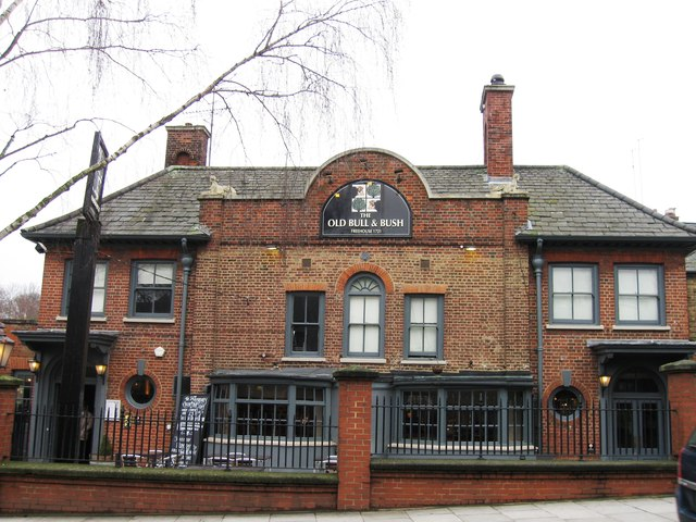 The Old Bull and Bush, North End
