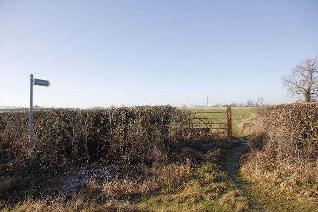 Footpath to Horton