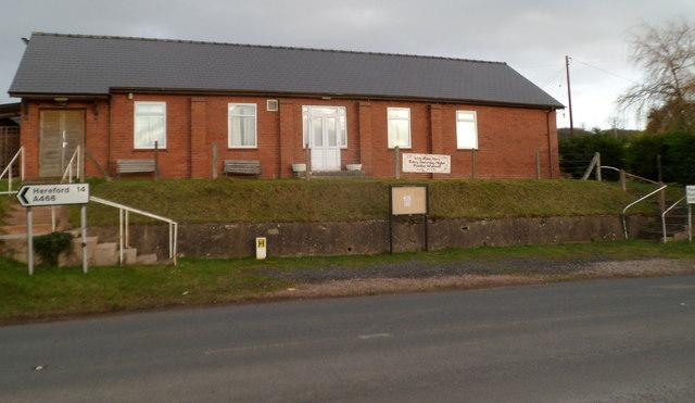 Welsh Newton & Llanrothal village hall