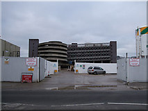 SU1585 : Construction site, Corporation Street, Swindon by Vieve Forward