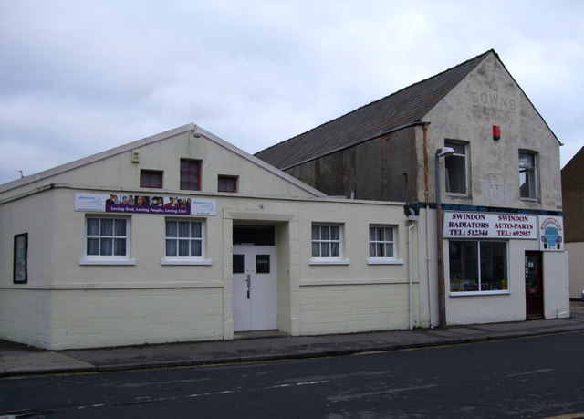 Discovery Church and Bowns, Lagos Street, Swindon
