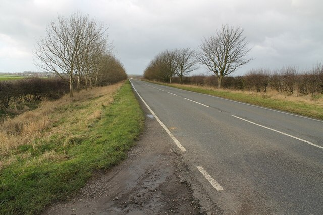 A631 Magna Mile, towards Ludford