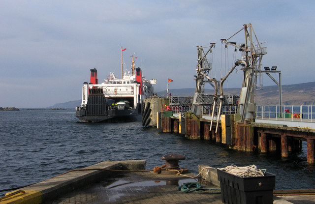 Pier at Port Ellen, Islay