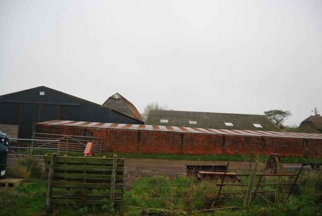 Farm building, Buckwell Farm