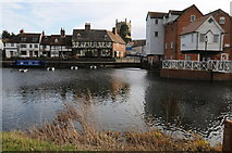 SO8832 : Classic view of Tewkesbury by Philip Halling