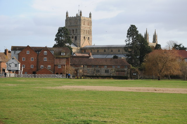 Abbey Mill and Tewkesbury Abbey