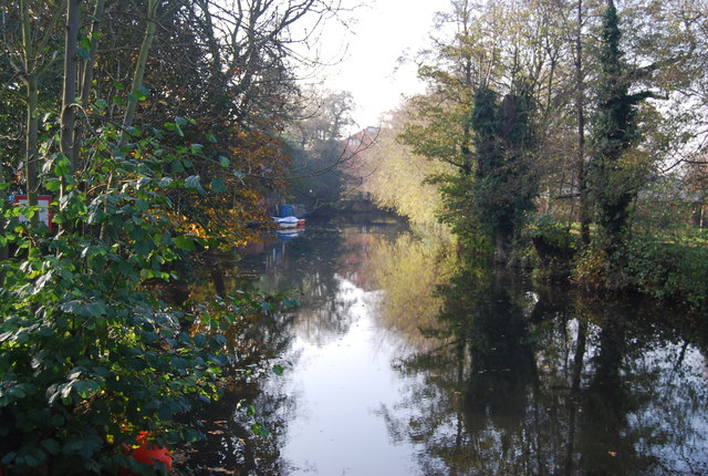 River Medway in Tonbridge