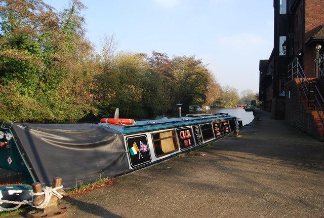 Cecil 2, a narrowboat