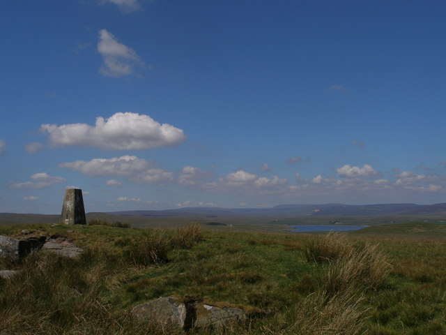 Trigpoint at West Hare Crag