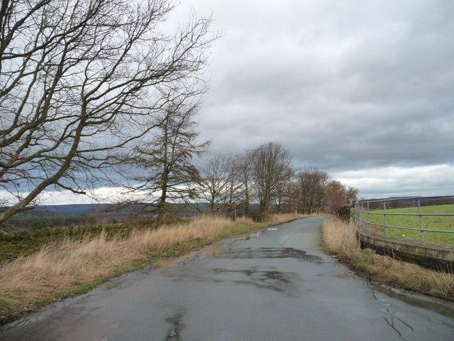 Cross Lane, east of Coplowe Lane