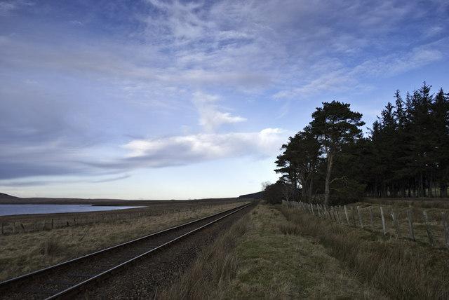 Railway by Lochside
