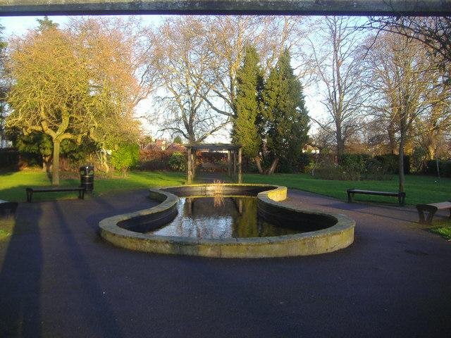The holocaust memorial garden, Hendon Park