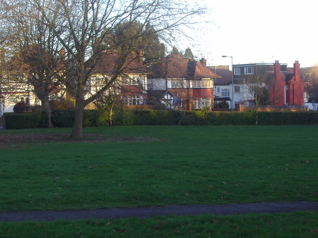 Shirehall Park from Hendon Park