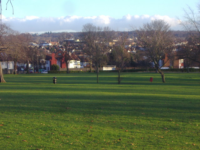 View from Hendon Park