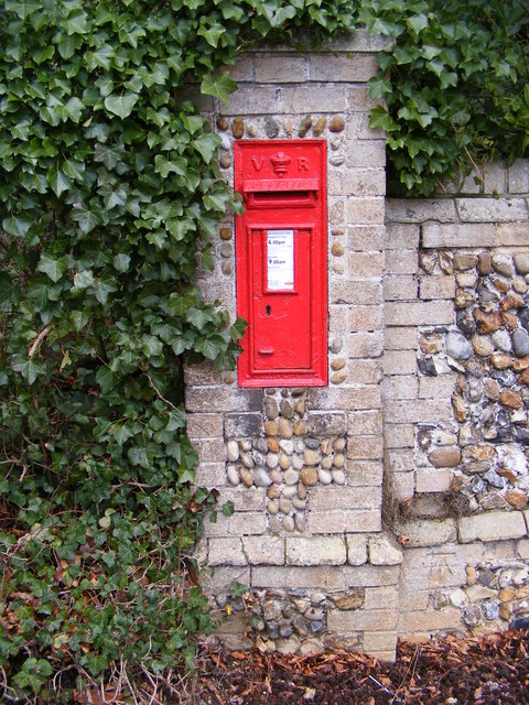 Foxborough Hall Victorian Postbox