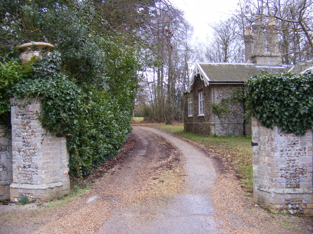 The entrance to Foxborough Hall