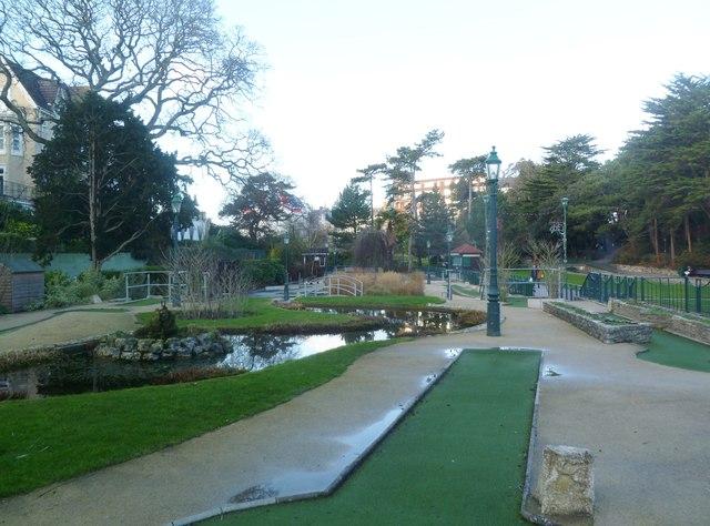 Bournemouth, mini-golf