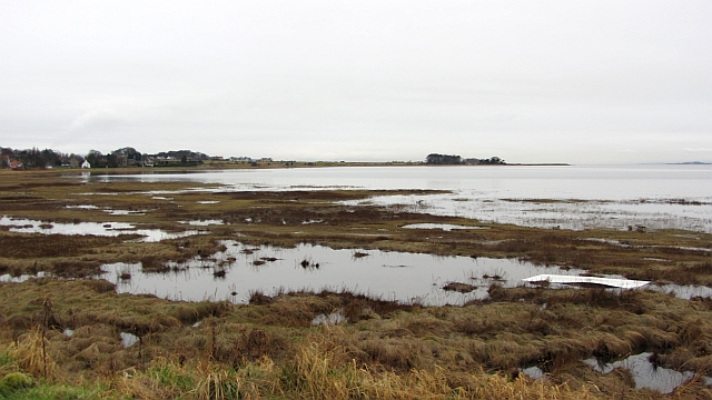 High water, Aberlady Bay