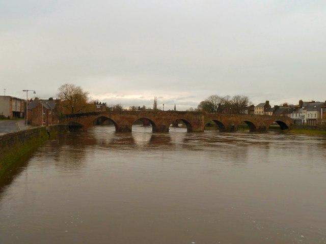 The Old Bridge in Dumfries